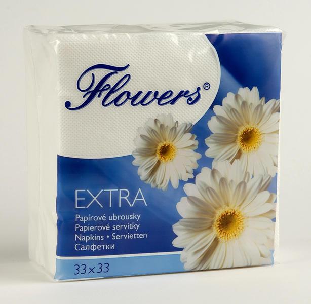 ANATRA Flowers extra 33x33 100 ks